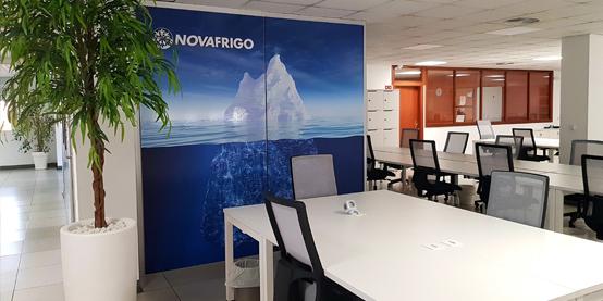 Comercial Novafrigo. Productos congelados de máxima calidad