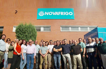 Equipo Comercial Novafrigo. distribución y asesoramiento a Hostelería de productos congelados de alta calidad