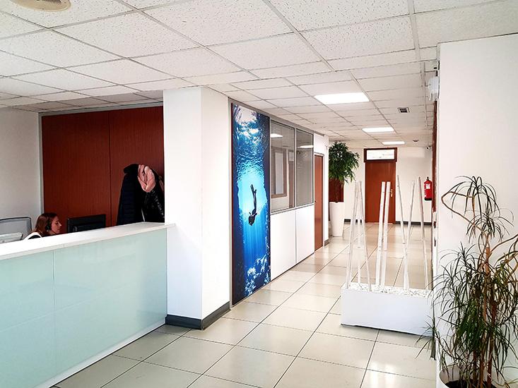 Oficinas Comercial Novafrigo productos congelados