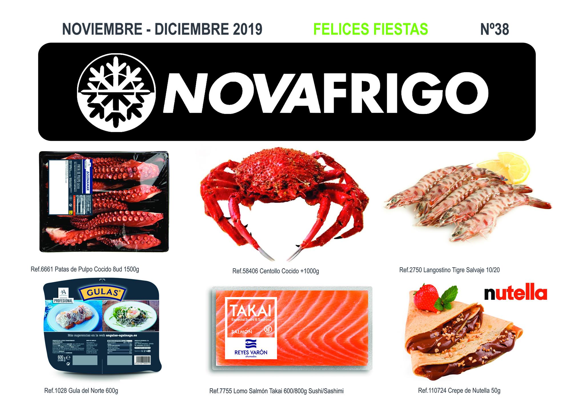 Catálogo Noviembre/ Diciembre 2019. Comercial Novafrigo