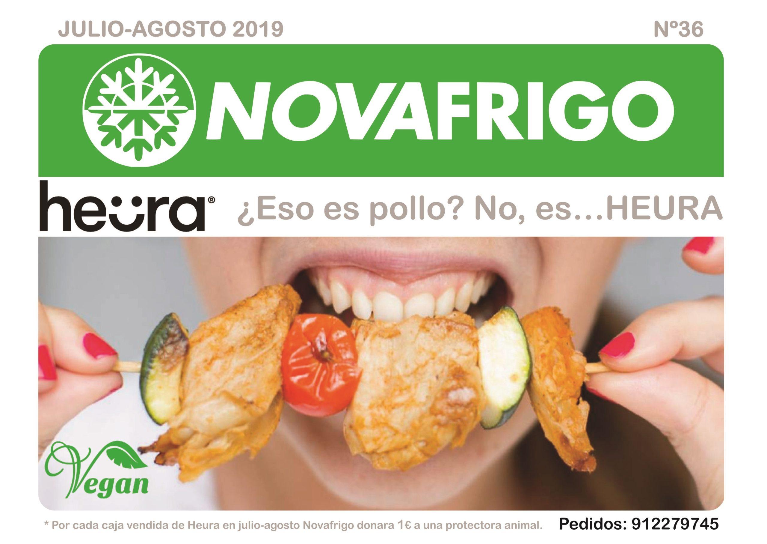 Catálogo comercial Novafrigo julio-agosto 2019