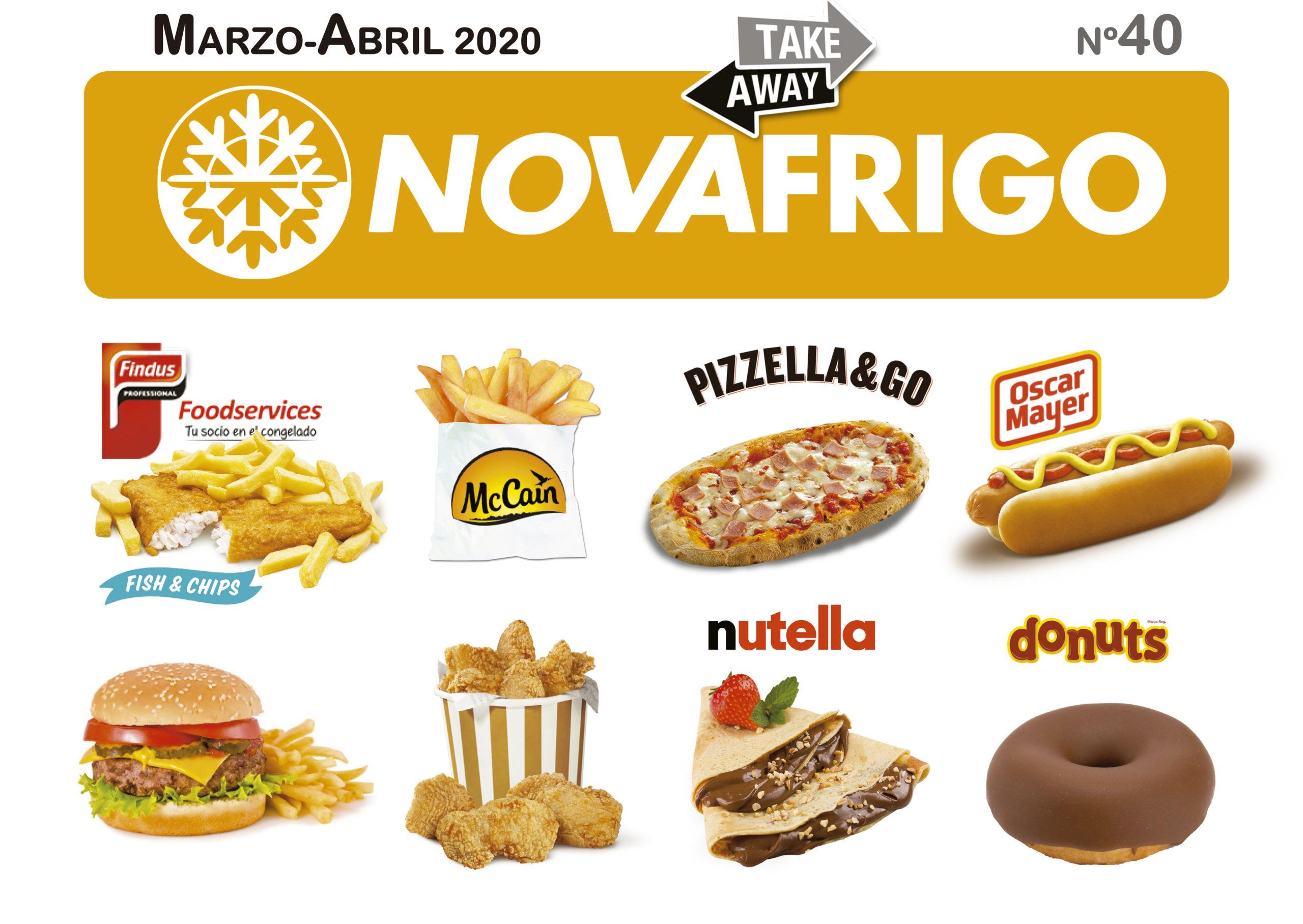 Catálogo comercial Novafrigo marzo-abril 2020