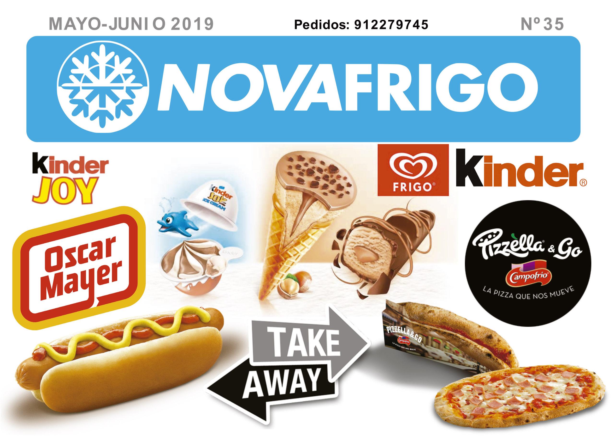 Catálogo comercial Novafrigo mayo-junio 2019