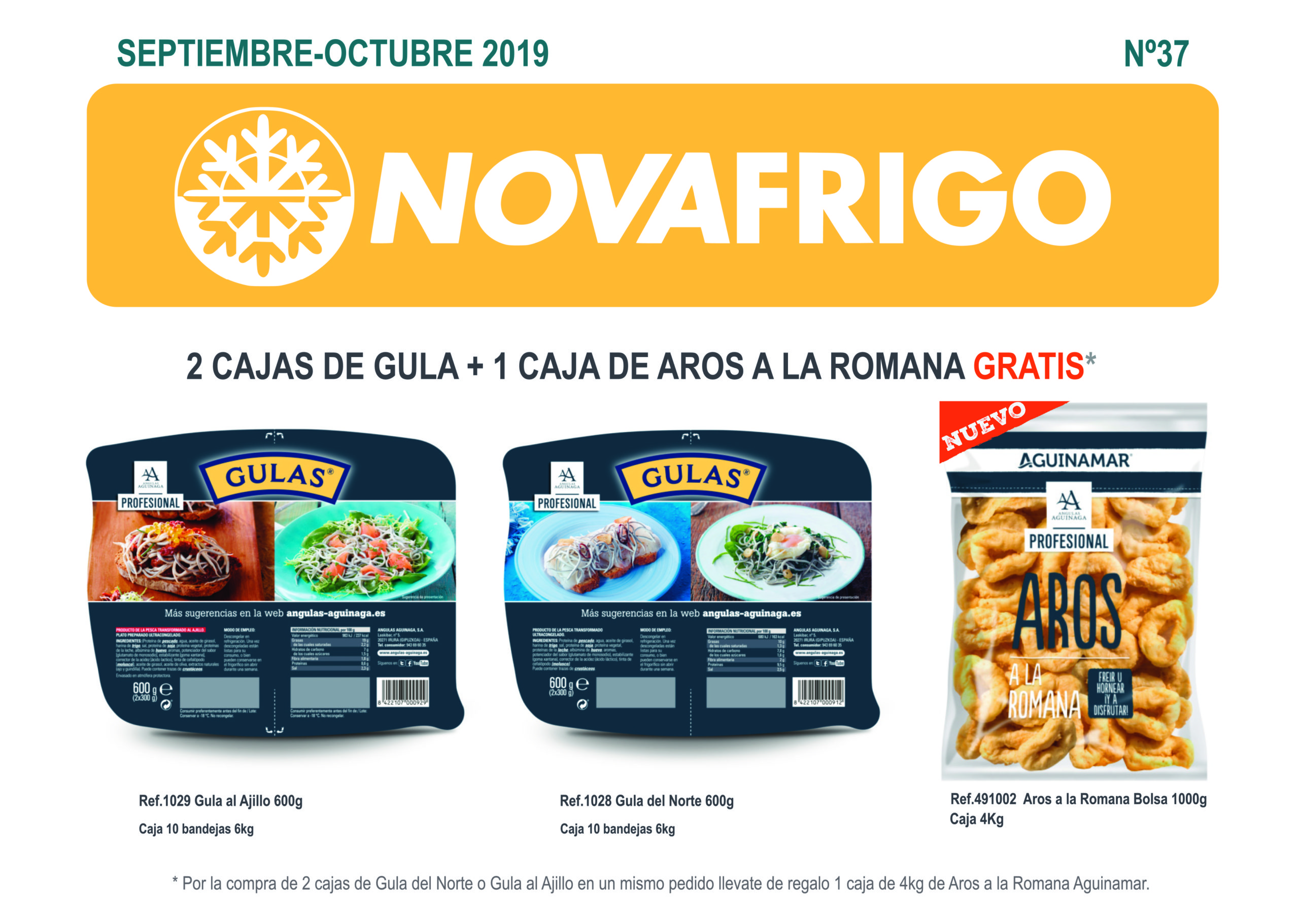 Catálogo comercial Novafrigo septiembre-octubre 2019