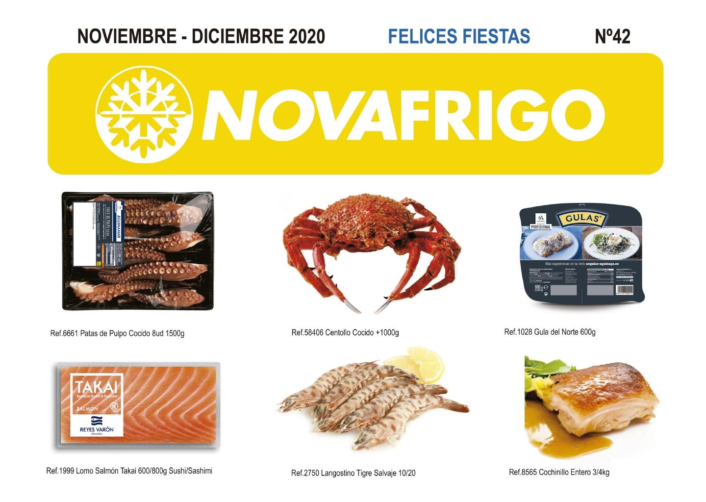 Catalogo productos congelados Noviembre - Diciembre 2020