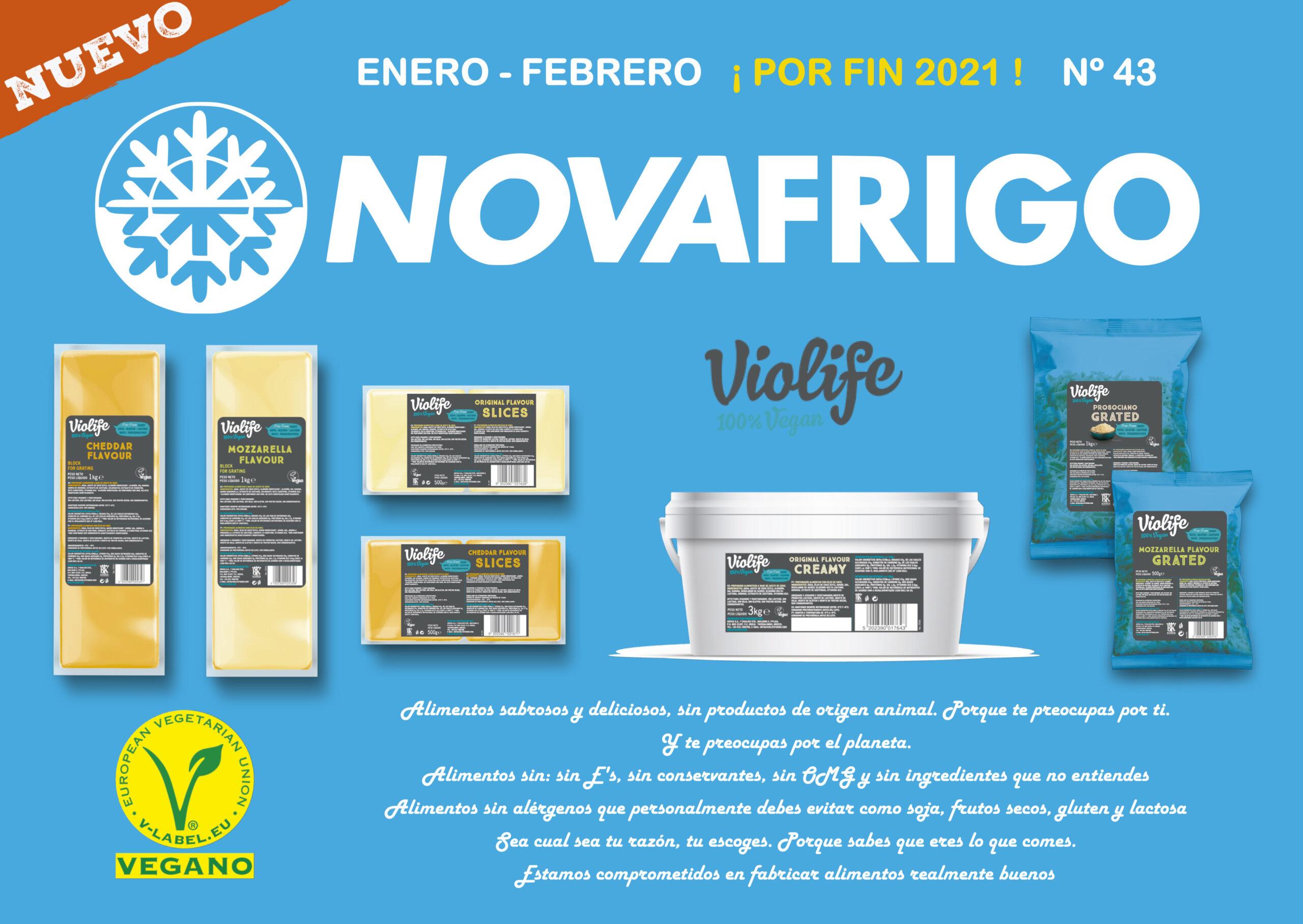 Catalogo productos congelados Enero - Febrero 2021