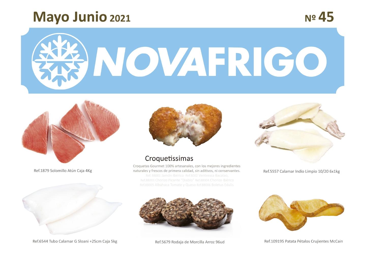 Catalogo productos congelados Mayo- Junio 2021