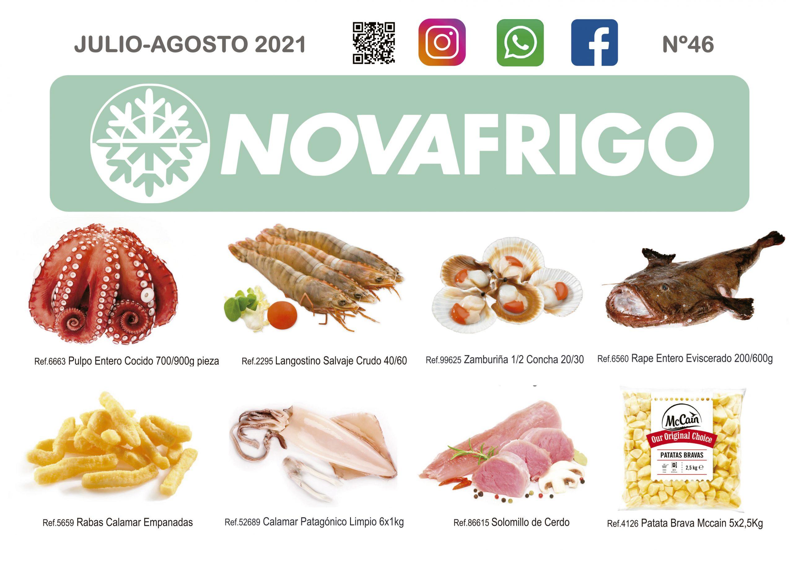 Catalogo productos congelados Julio- Agosto 2021