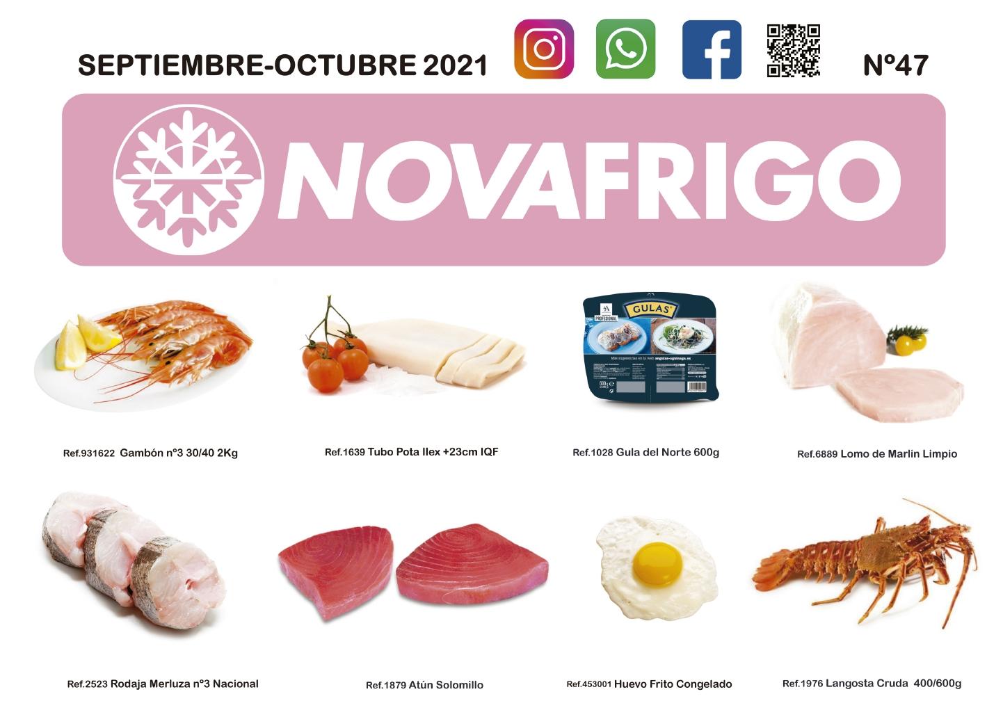 Catalogo productos congelados Septiembre - Octubre 2021